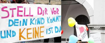 Hebammenstreik Paderborn
