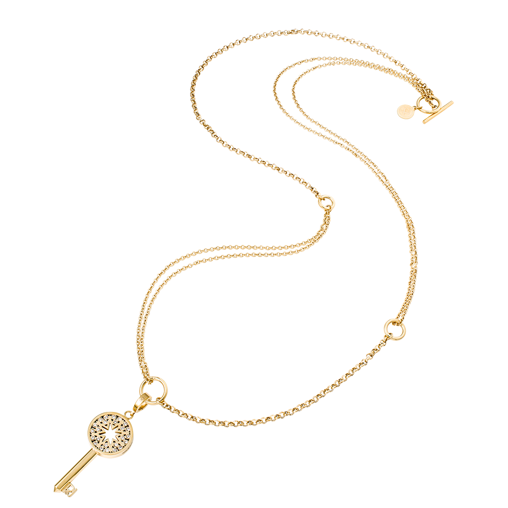Possibility Necklace Key to my Secret Charm Gold 59,00 + 69,00 Euro